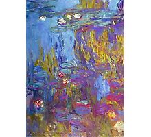 Claude Monet - Water Lilies 1917 Photographic Print