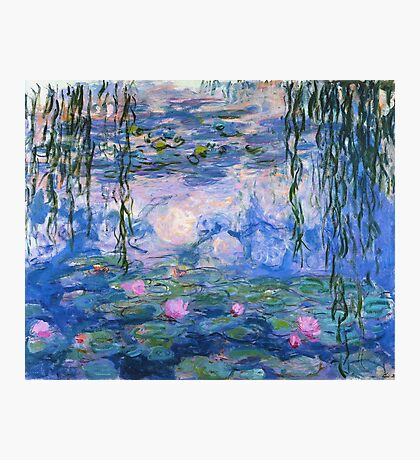 Claude Monet - Water Lilies 1919 Photographic Print