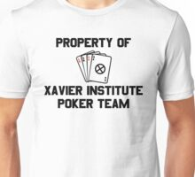 Property of Xavier Institute Poker Team – X-Men, Gambit Unisex T-Shirt