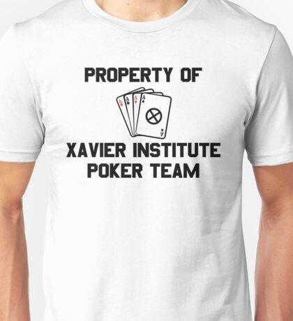 Property of Xavier Institute Poker Team – X-Men, Gambit Unisex T-Shirt