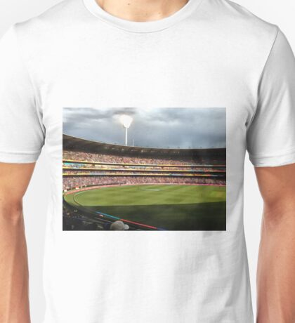 Day night cricket match Unisex T-Shirt