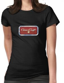 Chris Craft Vintage Boats Womens Fitted T-Shirt