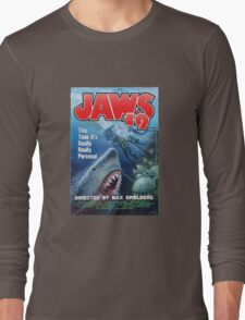 Back to the future - JAWS 19 Long Sleeve T-Shirt