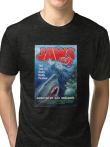 Back to the future - JAWS 19 Tri-blend T-Shirt