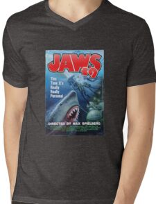 Back to the future - JAWS 19 Mens V-Neck T-Shirt