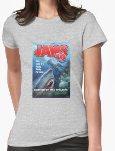 Back to the future - JAWS 19 Womens Fitted T-Shirt