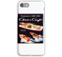 Chris Craft Vintage Boats iPhone Case/Skin