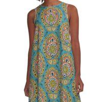 safa blue A-Line Dress