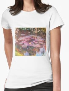 Claude Monet - Water Lilies 1917 6 Womens Fitted T-Shirt