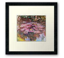 Claude Monet - Water Lilies 1917 6 Framed Print