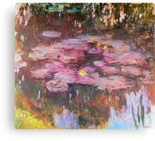 Claude Monet - Water Lilies 1917 6 Canvas Print
