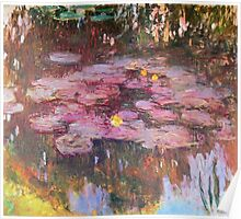 Claude Monet - Water Lilies 1917 6 Poster