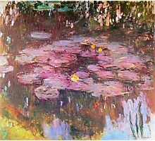 Claude Monet - Water Lilies 1917 6 Photographic Print