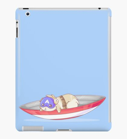 captain fluff iPad Case/Skin