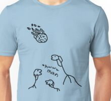 dinosaur extinction aww man Unisex T-Shirt