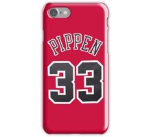 Scottie Pippen iPhone Case/Skin