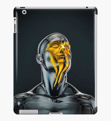 Love is the Only Gold iPad Case/Skin