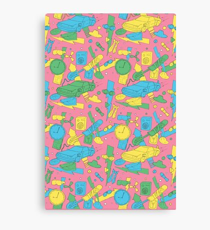 Back to the Doodles Canvas Print