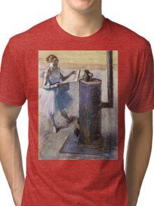 Edgar Degas - Dancer Resting Tri-blend T-Shirt