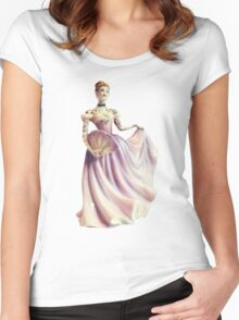 Tattoo Doll - Porcelain Lady Women's Fitted Scoop T-Shirt