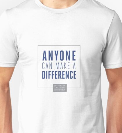Anyone Can Make a Difference T-Shirt