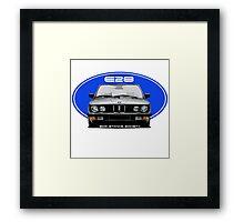 BMW E28 -G/B Framed Print