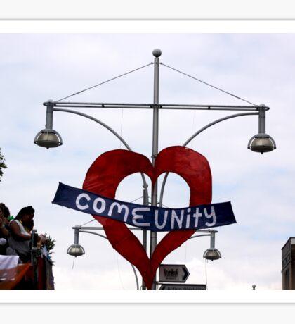Carnival ComeUnity Sticker