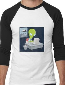 I Want to Believe, X Files Men's Baseball ¾ T-Shirt