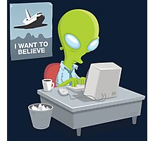 I Want to Believe, X Files Photographic Print