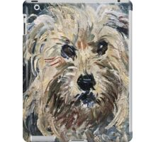 Claude Monet - Detail Of Yorkshire Terrier From Eugenie Graff (Madame Paul) 1881  iPad Case/Skin