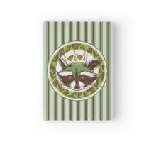 Rey Mapache ·  Green Tea Hardcover Journal