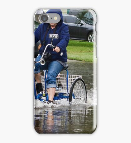 OOOOPS!!!! GUESS THE WATER IS TOO DEEP!!!! iPhone Case/Skin