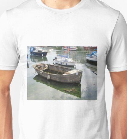 Clinker Boat Reflections Unisex T-Shirt