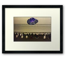 Take me to your leader! Framed Print
