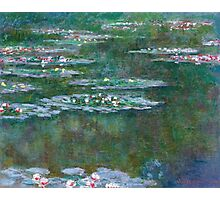 Claude Monet - Water Lilies 5 Photographic Print