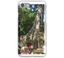 Cambodia - Ta Prohm Temple - Siem Reap - Angkor's Tree Village iPhone Case/Skin