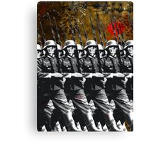 dead soldiers Canvas Print