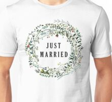 Just Married Unisex T-Shirt