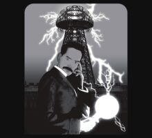 Mr. Clark as Nikola Tesla by Jason Wright