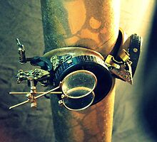 Steampunk Goggles 2.0 by PiscesAngel17