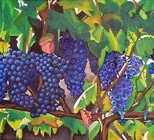 Tuscan Vineyard by Lori Elaine Campbell