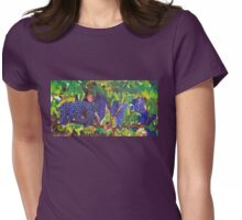 Tuscan Vineyard Womens Fitted T-Shirt