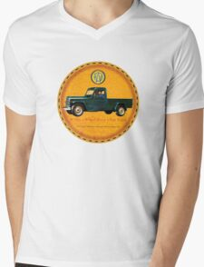 Willys one ton trucks Mens V-Neck T-Shirt