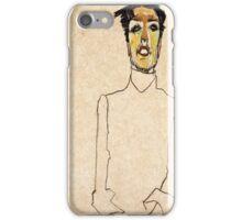 Egon Schiele - Singer Van Osen  iPhone Case/Skin