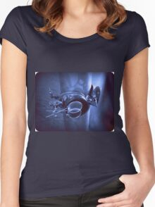 Steampunk Gauntlet 2.1 Women's Fitted Scoop T-Shirt