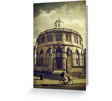 Sheldonian Theatre Greeting Card