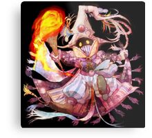 Super Vivi Fire Metal Print