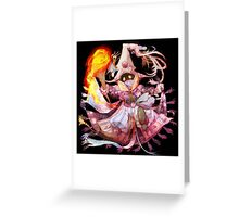 Super Vivi Fire Greeting Card