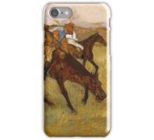 Edgar Degas - Before The Race iPhone Case/Skin