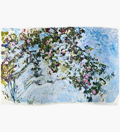 Claude Monet - Roses 1825  Poster